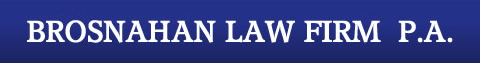 Brosnahan Law Firm P.A. Logo